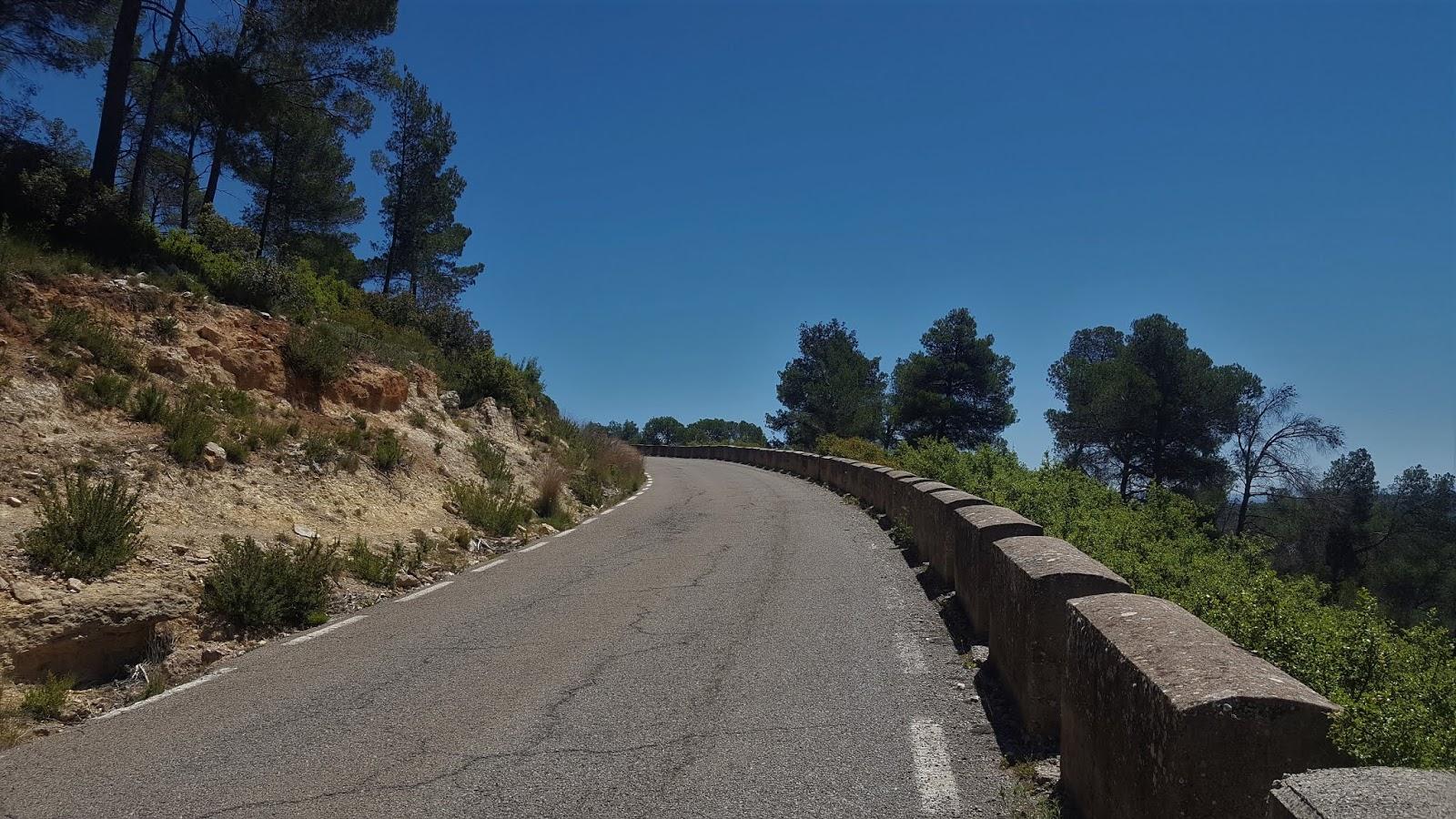 Climb to Casas de Benalí, Sierra de Enguera, Valencia