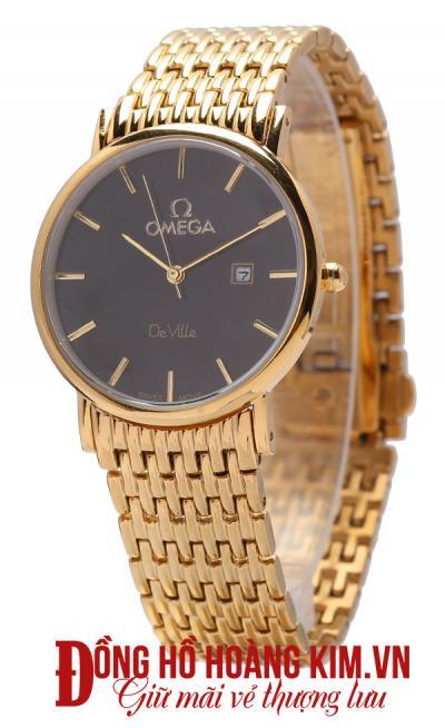 đồng hồ nam dây thép omega nam tính