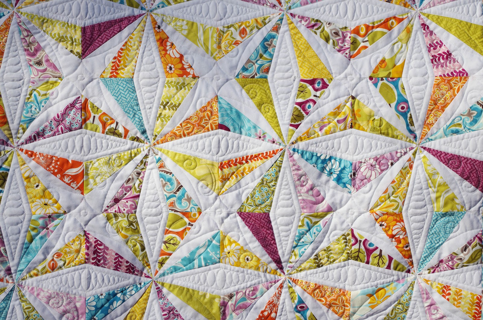 Ahhh Quilting Central Park Kaleidoscope Quilt