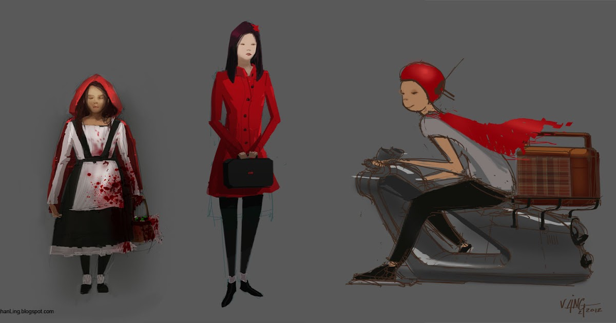 V Ling: Little Red Riding Hood Uberhaxornova Animated Classics Hot Dog