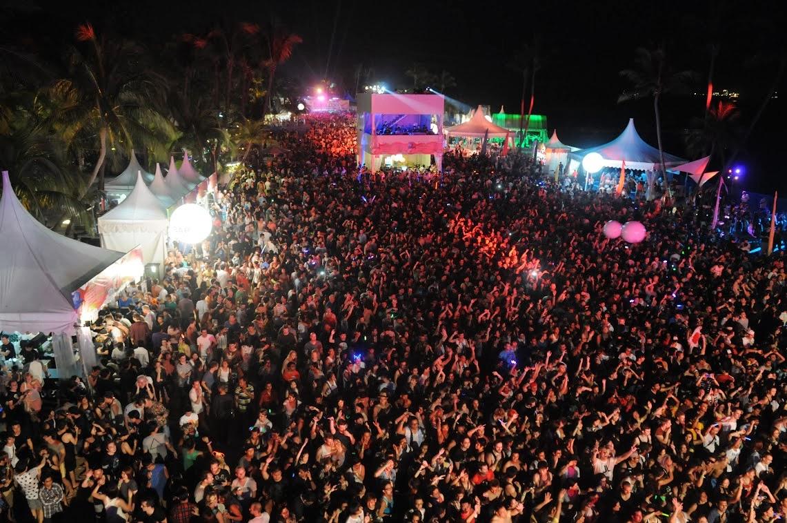 Siloso Beach Party 2013 How I Ended My 2013
