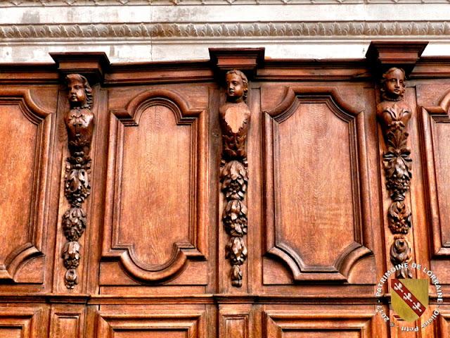 SAINT-MIHIEL (55) - Stalles de l'église Saint-Michel (XVIIIe siècle)