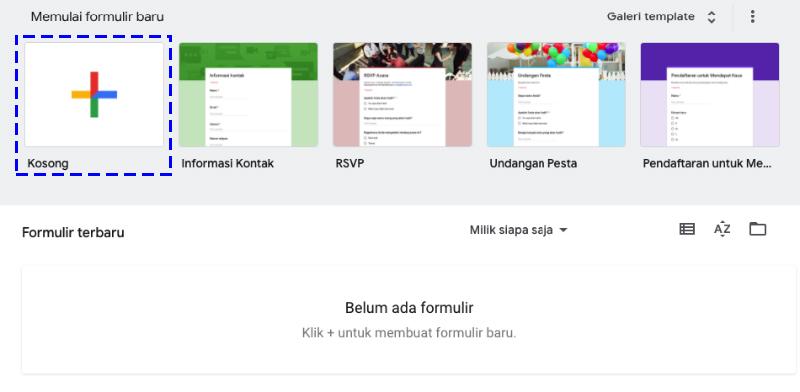 Cara Membuat Kuis Online Menggunakan Iframe dan Google Form mudah halan awal