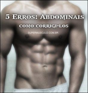 5 maiores erros definir abdomen
