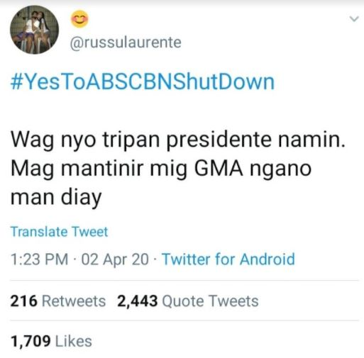 PBB housemate admits to supporting ABS-CBN shutdown Robi Domingo reacts -  The Summit Express
