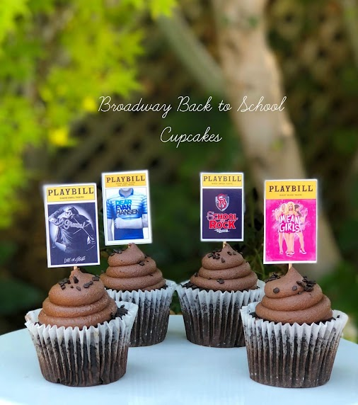 Even Broadway has to go Back to School! We are celebrating with classic school shows... and cupcakes...