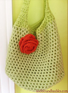 Crochet a Single Skein Market Bag