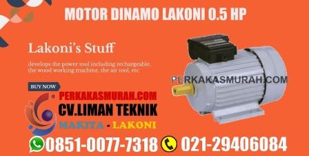 dinamo motor lakoni 0.5 hp, dinamo lakoni 1 hp, harga dinamo lakoni 0.5 pk, dinamo lakoni solid 0.5 m
