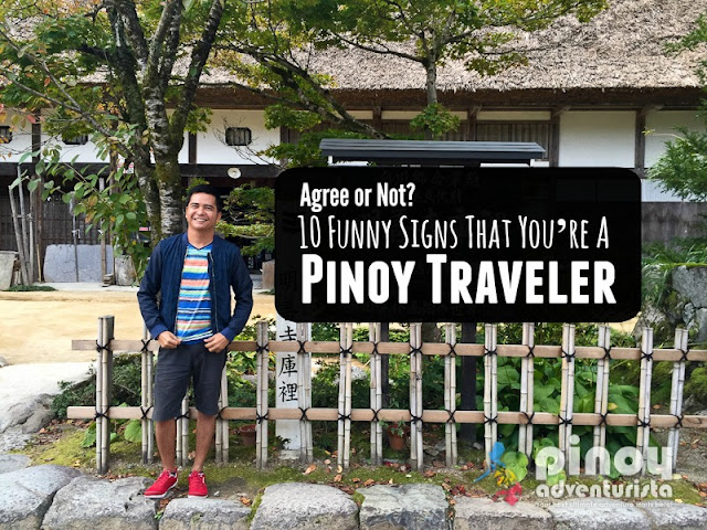 10 Funny Signs that you're a Filipino Traveler