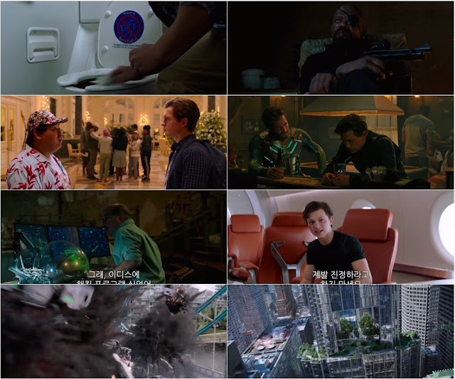 Spider Man Far From Home 2019 English 720p WEBRip