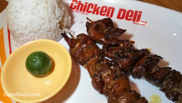 Chicken Deli - Bacolod chicken inasal - pork barbecue