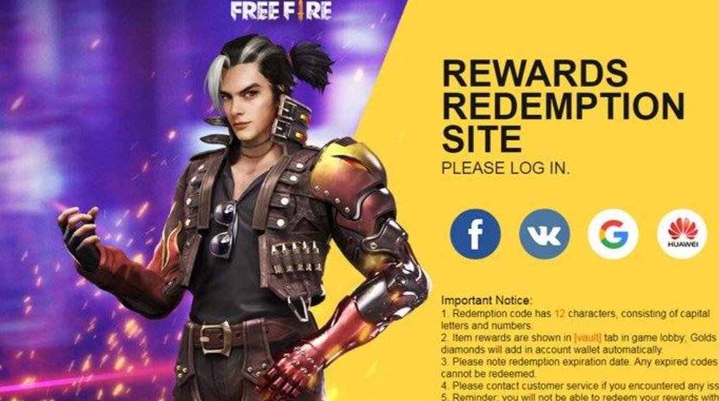Kode Redeem FF 2 November 2020