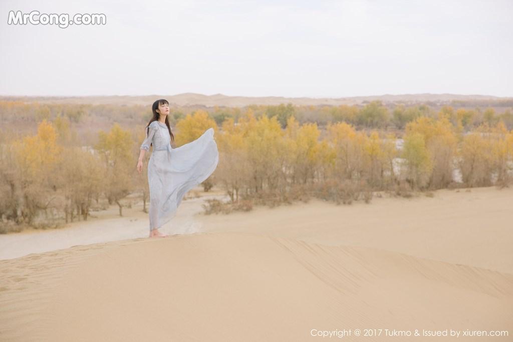 Image Tukmo-Vol.104-Zhi-Ying-MrCong.com-009 in post Tukmo Vol.104: Người mẫu Zhi Ying (之应) (41 ảnh)