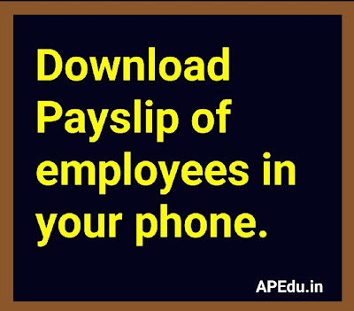 Download Payslip of employees in your phone.