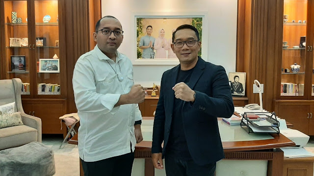 Silaturrahmi dengan Rekat Indonesia, Ridwan Kamil Dipuji sebagai Sosok Pemimpin Pemersatu