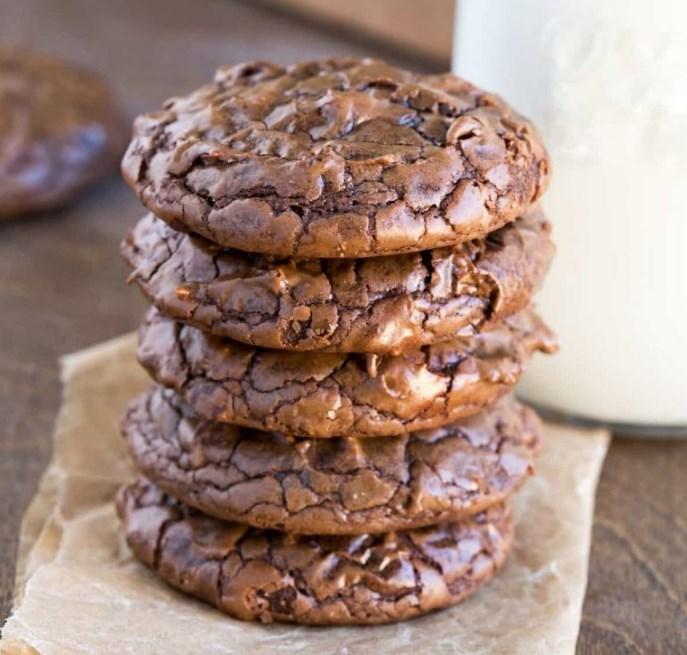 Brownie Cookie #chocolate #cookies
