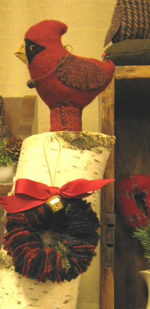 Orange Sink Crafting Creepy Santas