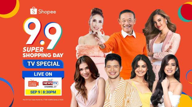 Shopee headlines 9.9 Super Shopping Day