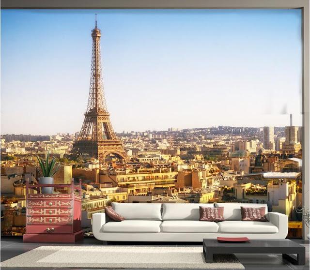 Tapetti Kaupunki Paris