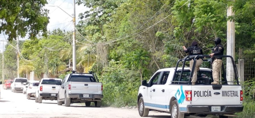 Detienen en Cancún a Sicarios que estaban apunto de mutilar a una persona que habían levantado