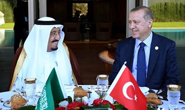 اتصال مفاجئ من الرئيس التركي أردوغان بالعاهل السعوي الملك سلمان