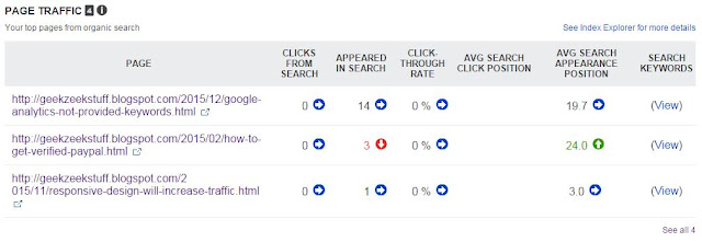 Bing Search Report