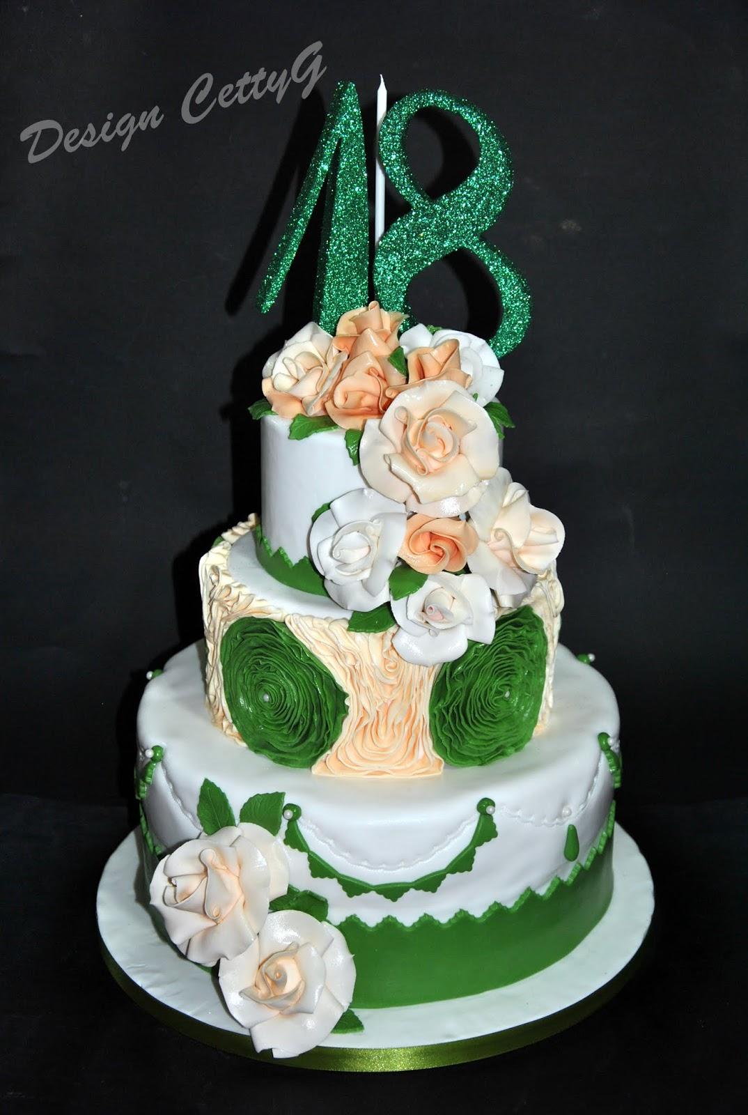 Le torte decorate di cetty g agosto 2014 for Torte per 18 anni maschile