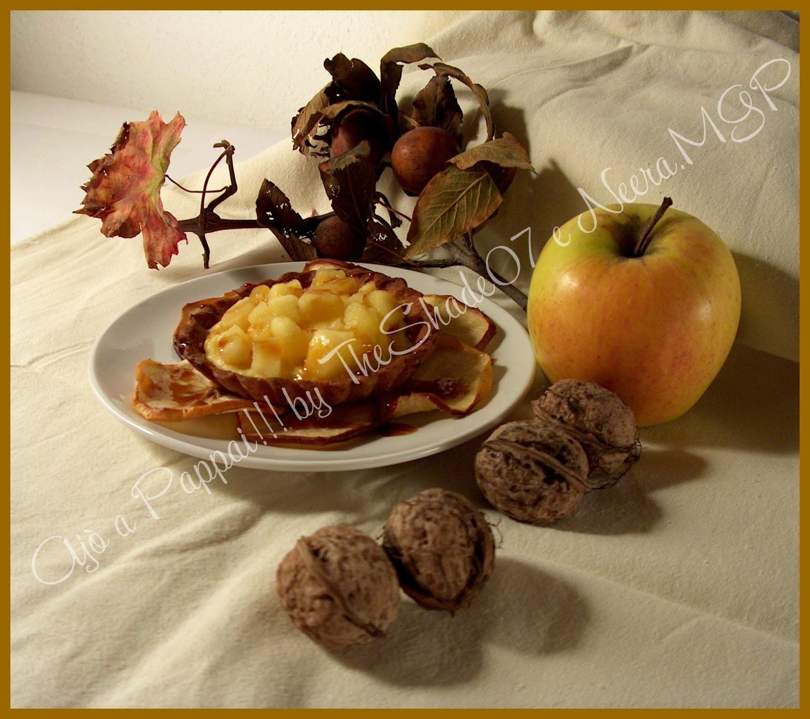 Immagine del dolce Crostatine di mele autunnali
