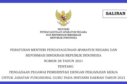 Download Permenpan RB No 28 Tahun 2021 PDF