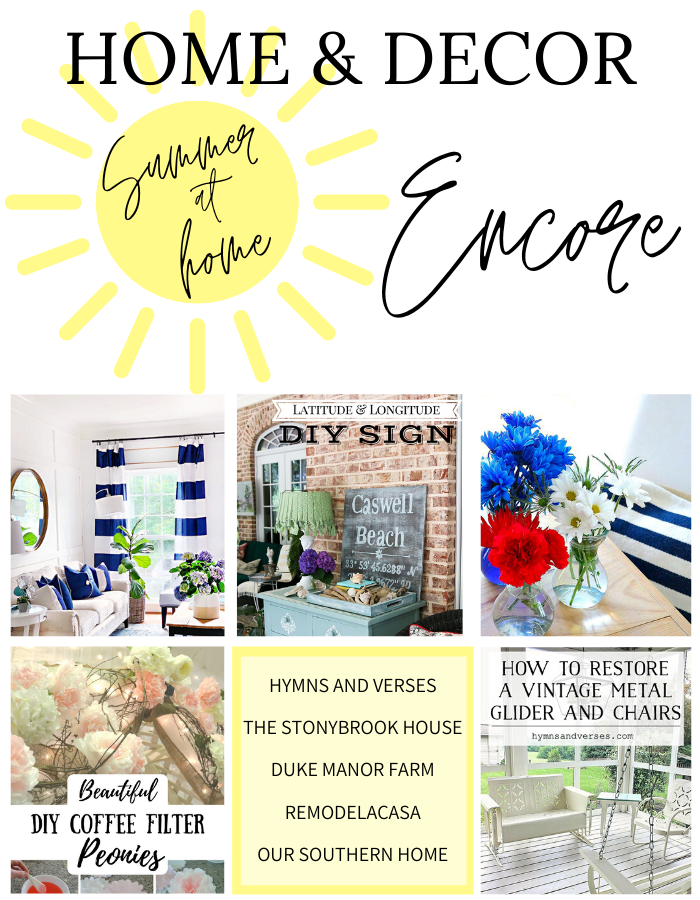 Home & Decor Encore Graphic