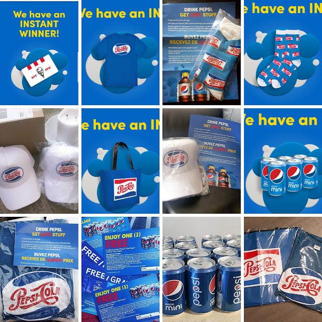Pepsi prizes won 2019