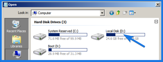 Local Disk Drive