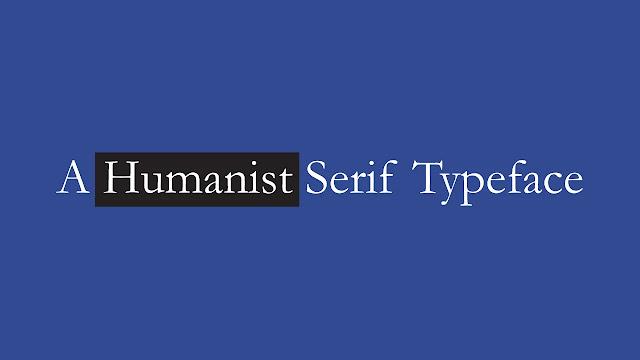 humanist-serif-font