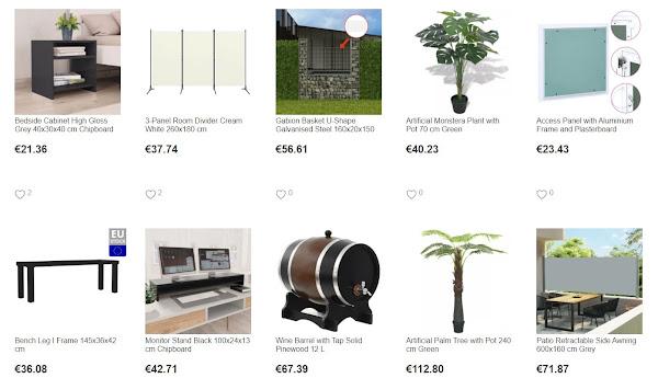 Produtos para casa vindos da Holanda com cupão exclusivo na Geekbuying
