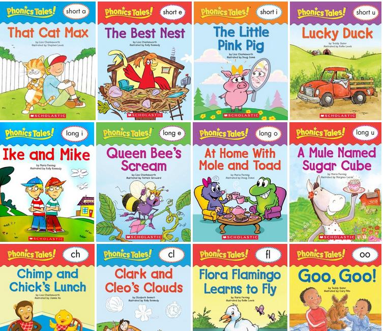 Scholastic Phonics Tales ( 18 books )
