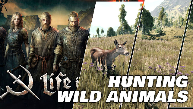 Hunting Wild Animals • LIFE IS FEUDAL MMO