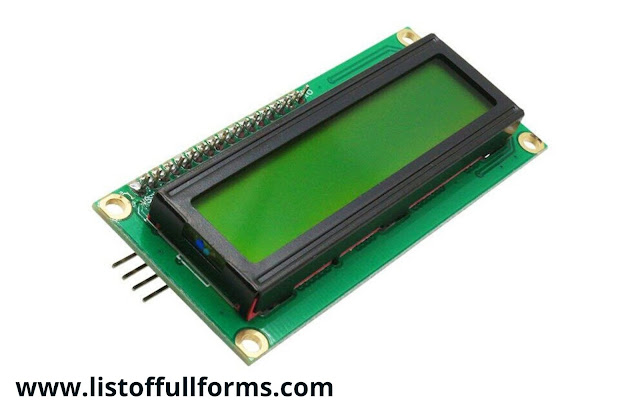 LCD full form