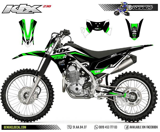 KLX 230 - R - GreenBlack