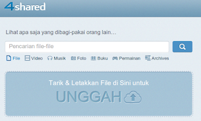 Cara Download di 4Shared Tanpa Login