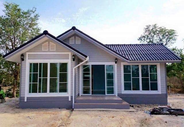 Desain Rumah Kampung Leter L