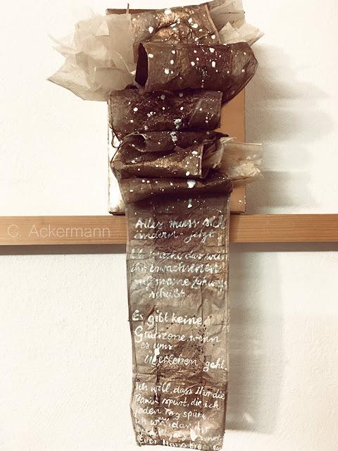 Nachhaltige Kunst aus Papier