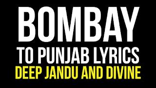 Bombay to punjab song lyrics