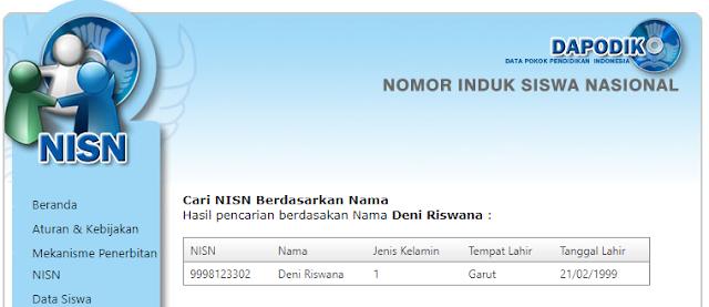 Cara Mudah Cek NISN Siswa Secara Online
