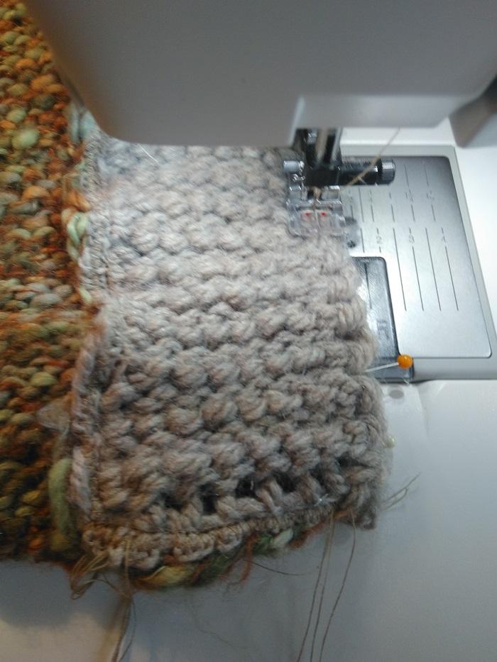 Bulle&Funambule:une gibecière tricotée