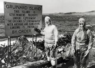 Cuarentena en la Isla de Gruinard