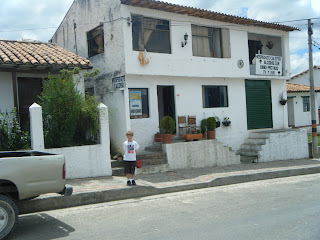 colonial town of Guatavita