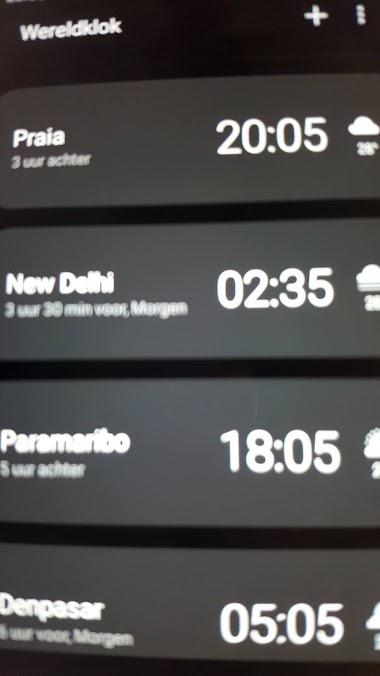 De tijd is nu