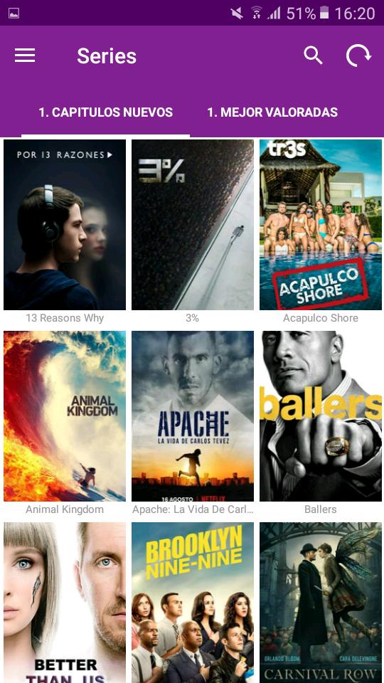 MXL MOVIES Aplicación definitiva Para ver Películas y Series en Español Latino