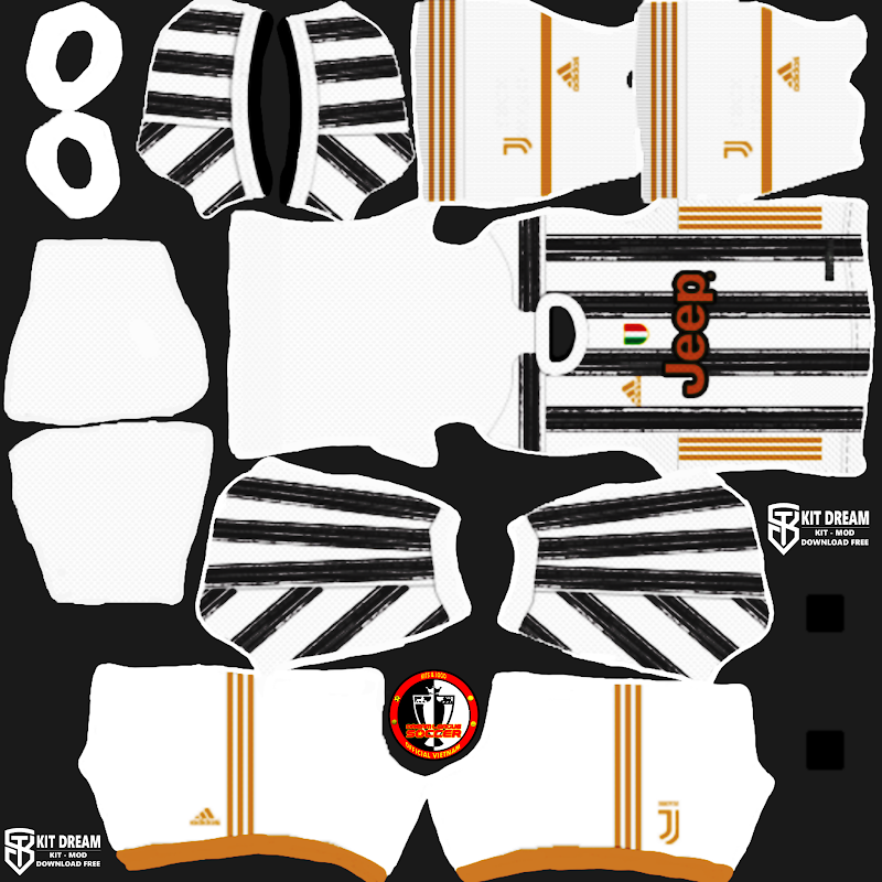 Kits Juventus 2021 - Dream League Soccer 2021