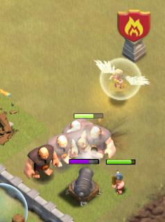 strategi giant healer
